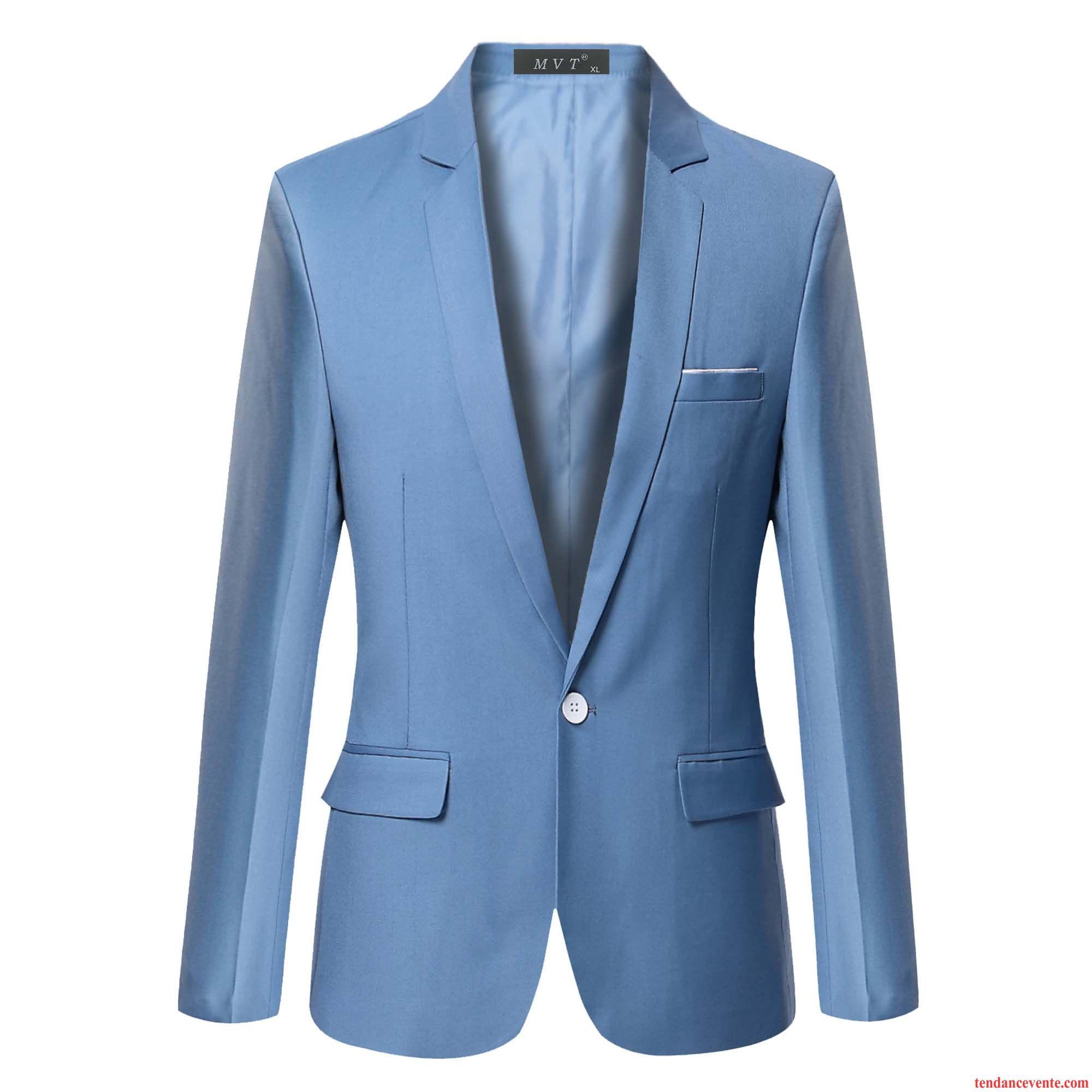 blazer velours homme noir tendance homme hiver d contract e britanique slim bleu pardessus l. Black Bedroom Furniture Sets. Home Design Ideas