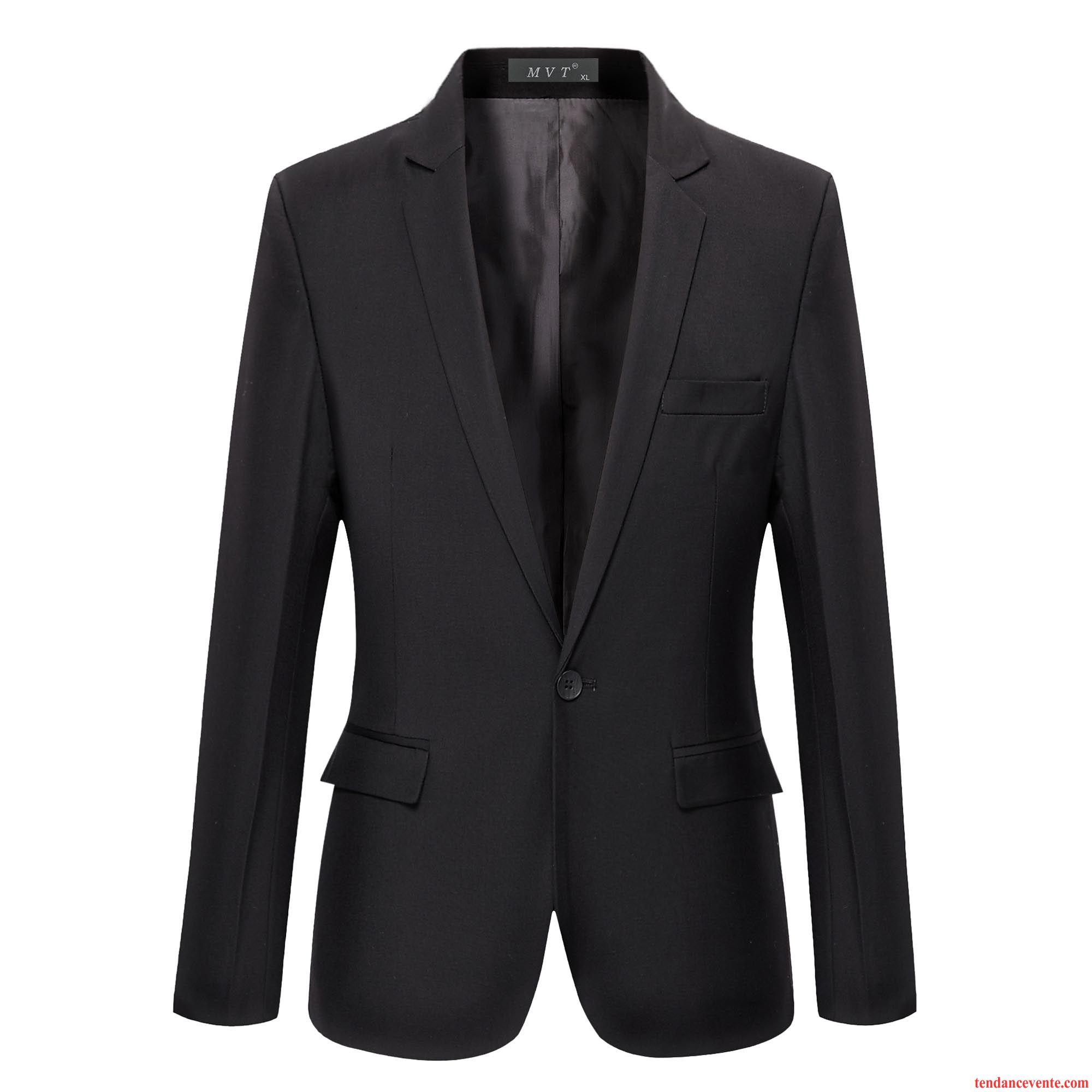 Blazer velours homme noir tendance homme hiver d contract e britanique slim bleu pardessus l - Cafe velours noir pas cher ...
