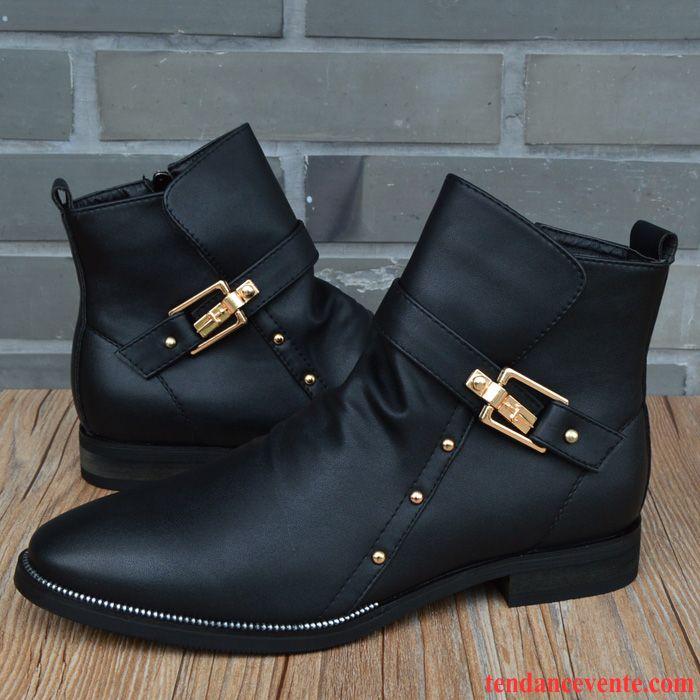 boots homme pas cher bureau tendance hiver angleterre homme hautes derbies mode. Black Bedroom Furniture Sets. Home Design Ideas