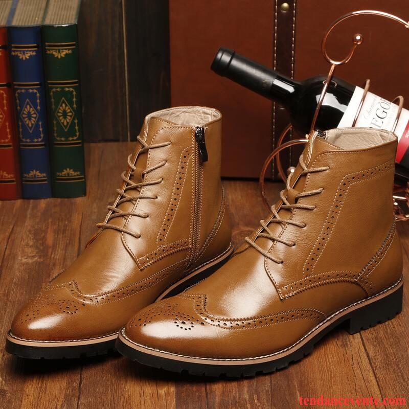 Homme Pointue Classe Chaussure Fleur Homme Pointe Angleterre WDIE9H2