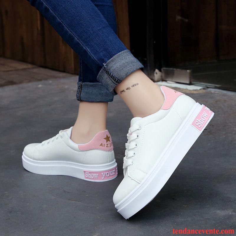Bottines Printemps Tous Assortis Tendance Femme Les Chaussures Blanc 5gwZZ0 a7dd50d128fe