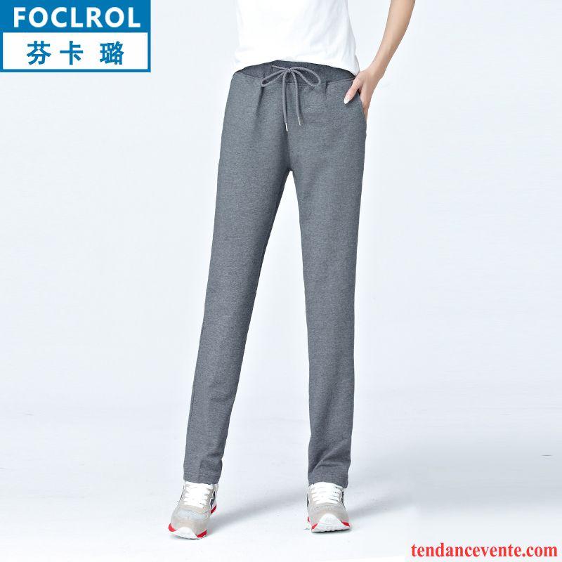 combinaison pantalon habill e femme mince femme l 39 automne pure jambe droite pantalon baggy. Black Bedroom Furniture Sets. Home Design Ideas