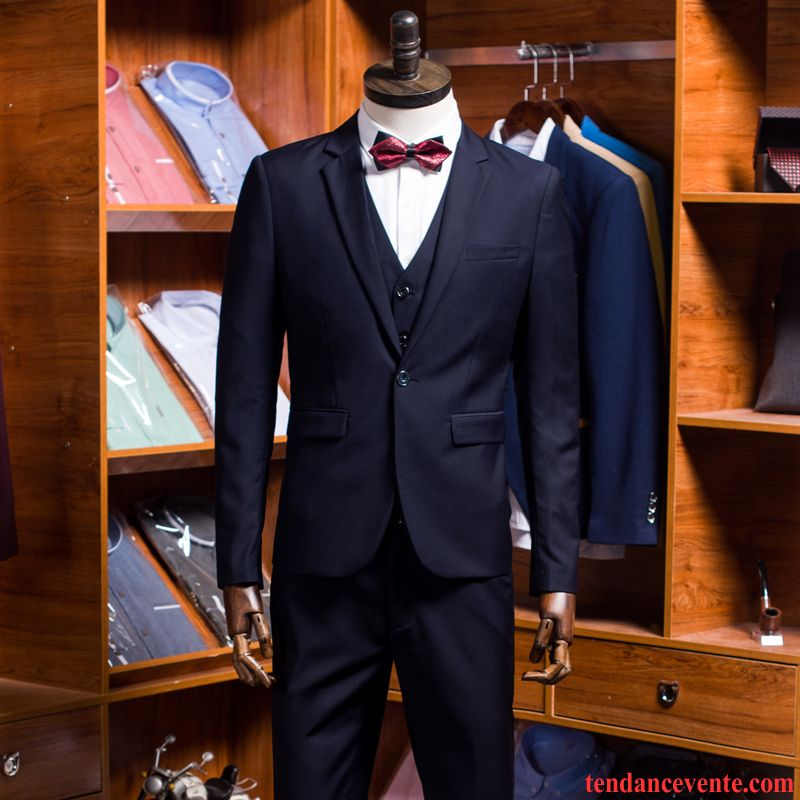 Costume Mariage Grande Taille Homme Professionnel Ensemble