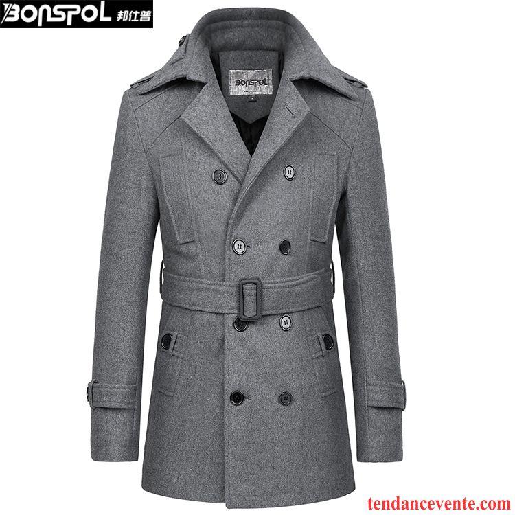 Manteau hiver style officier
