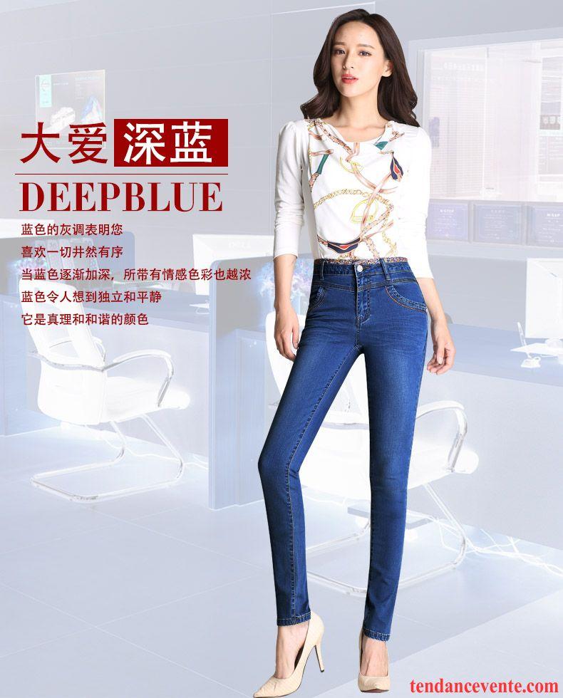 pantalon femme slim taille haute l g re mince femme maigre forme haute cintr e slim extensible. Black Bedroom Furniture Sets. Home Design Ideas