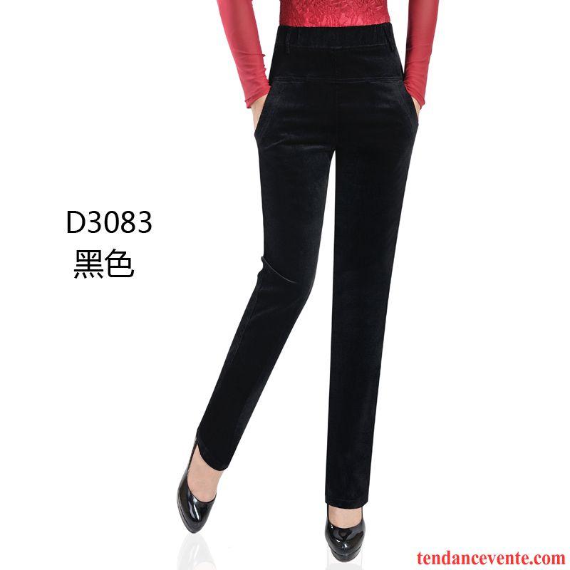 pantalon noir femme pas cher lastique pantalon hiver. Black Bedroom Furniture Sets. Home Design Ideas