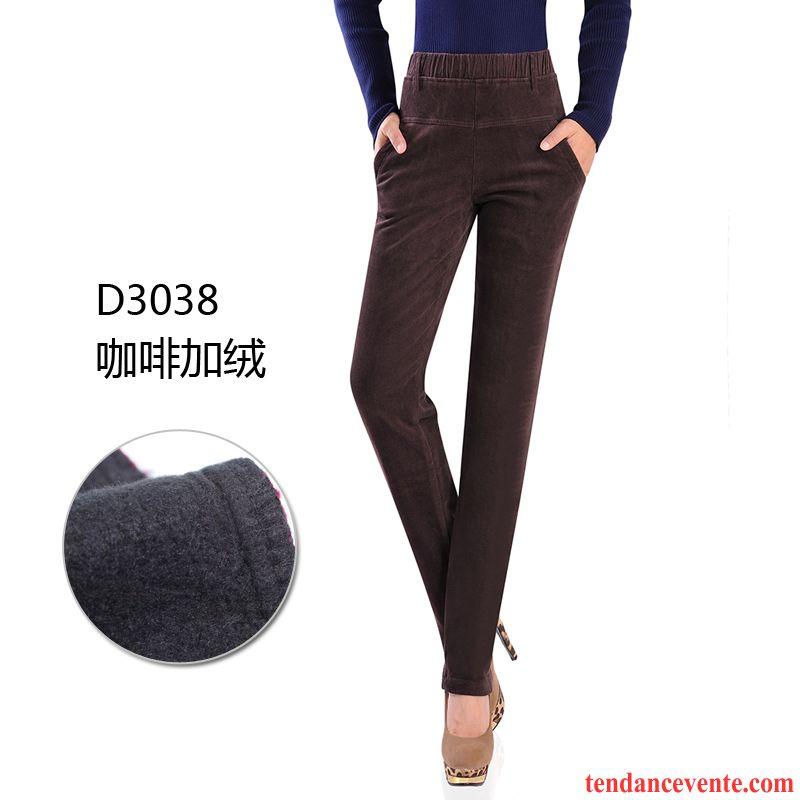 pantalon noir femme pas cher lastique pantalon hiver jambe droite plus de velours taillissime l. Black Bedroom Furniture Sets. Home Design Ideas