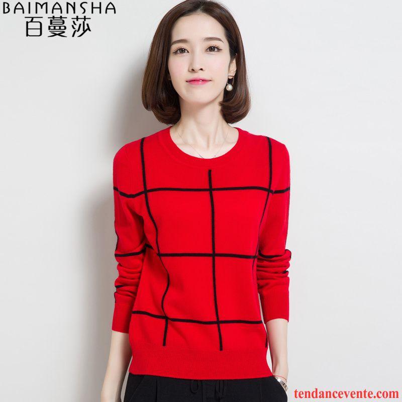 pull original femme pas cher femme pull l 39 automne pullovers chemise en bas pur tricots en maille. Black Bedroom Furniture Sets. Home Design Ideas