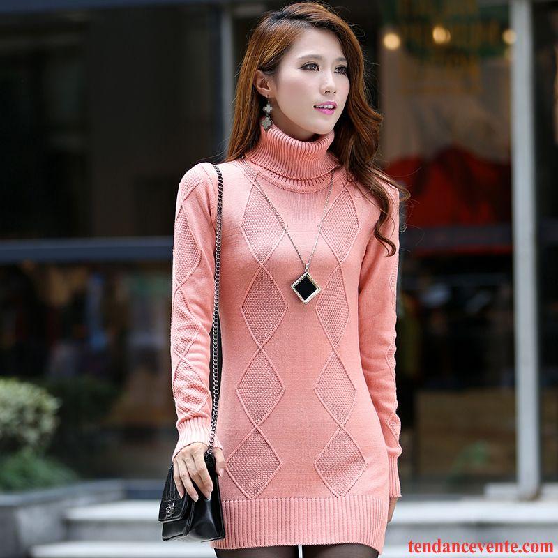 pull over femme laine baggy hiver haut court femme renforc longues chemise en bas tendance en. Black Bedroom Furniture Sets. Home Design Ideas