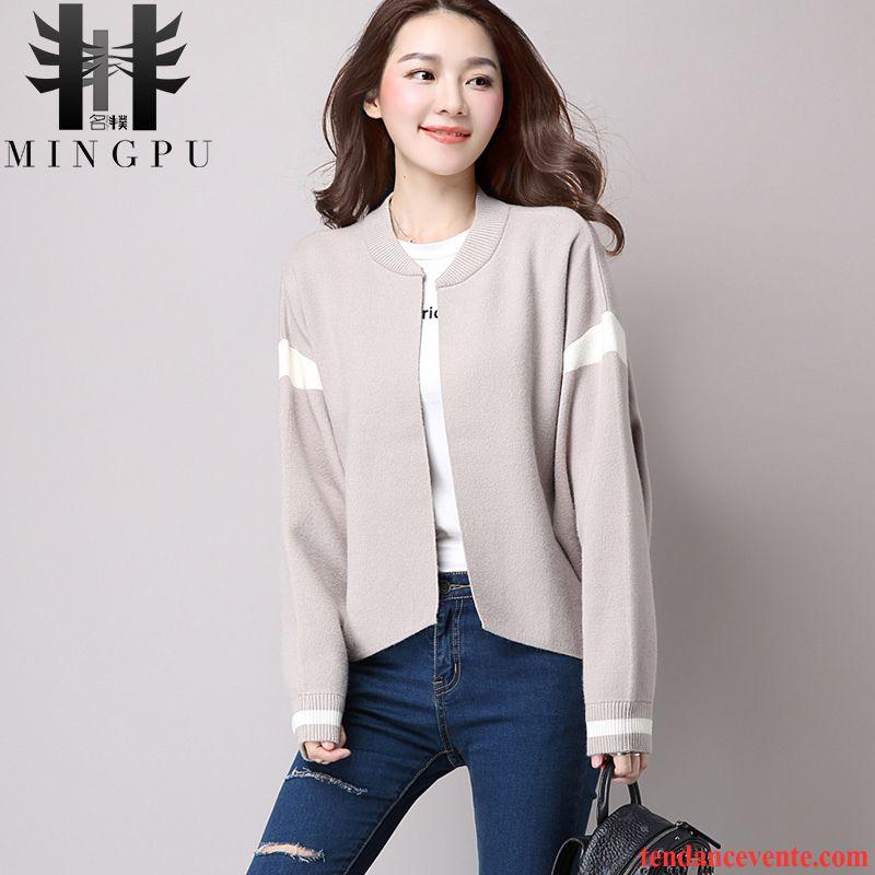 veste blazer femme rose hiver pull pardessus cardigan tricots en maille l 39 automne femme courte. Black Bedroom Furniture Sets. Home Design Ideas