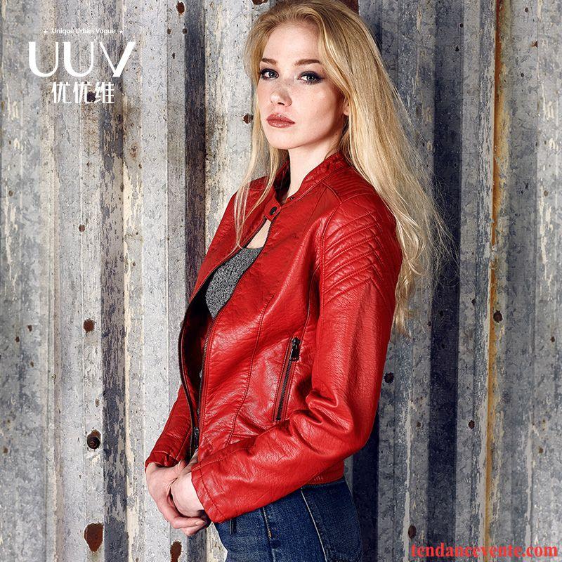 veste en jean pour femme veste une veste rouge femme l. Black Bedroom Furniture Sets. Home Design Ideas