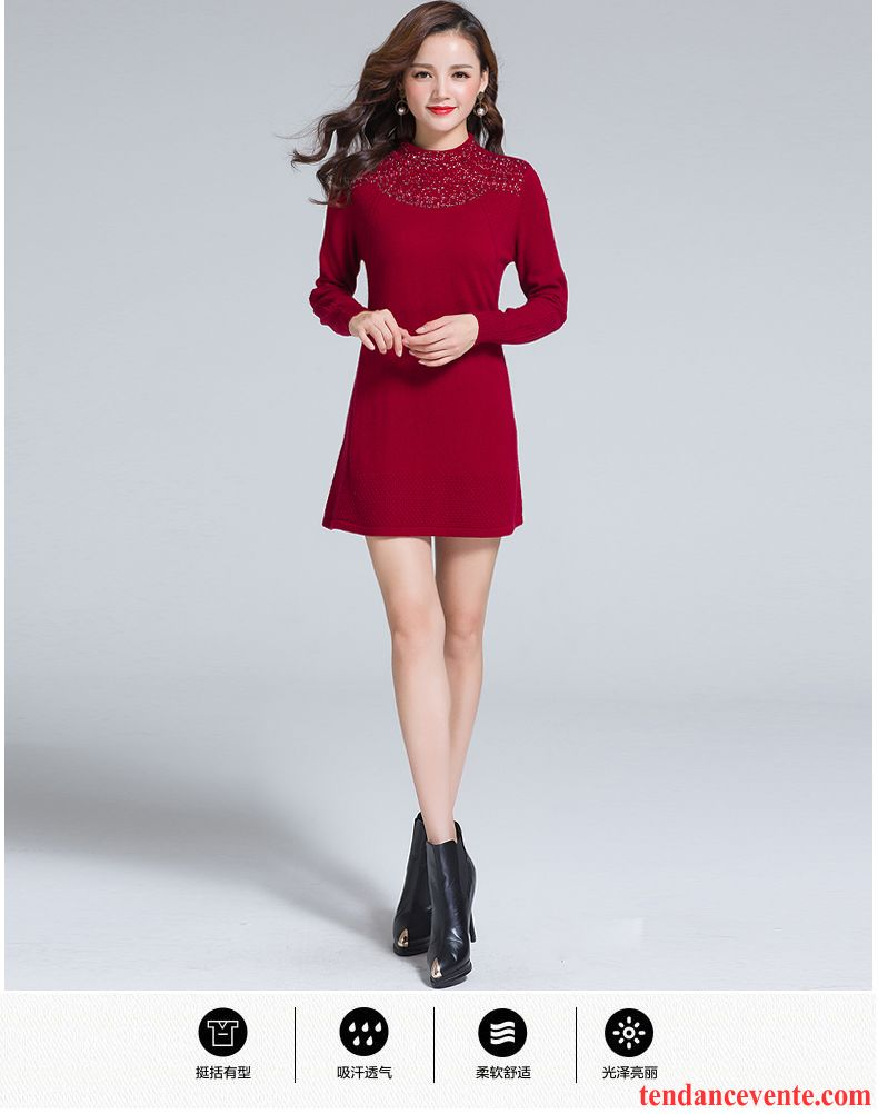 robe pull femme hiver pas cher robes de mode site photo blog. Black Bedroom Furniture Sets. Home Design Ideas