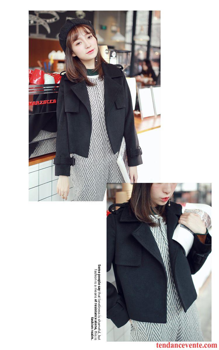 Veste Tendance Femme intérieur manteau femme chaud hiver manteau de laine costume veste tendance