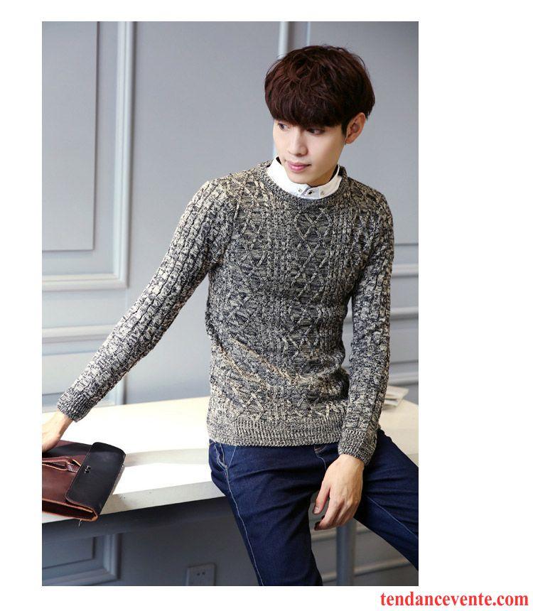 pull classique homme homme deux pi ces pardessus pull chemise frais hiver tricots en maille une. Black Bedroom Furniture Sets. Home Design Ideas