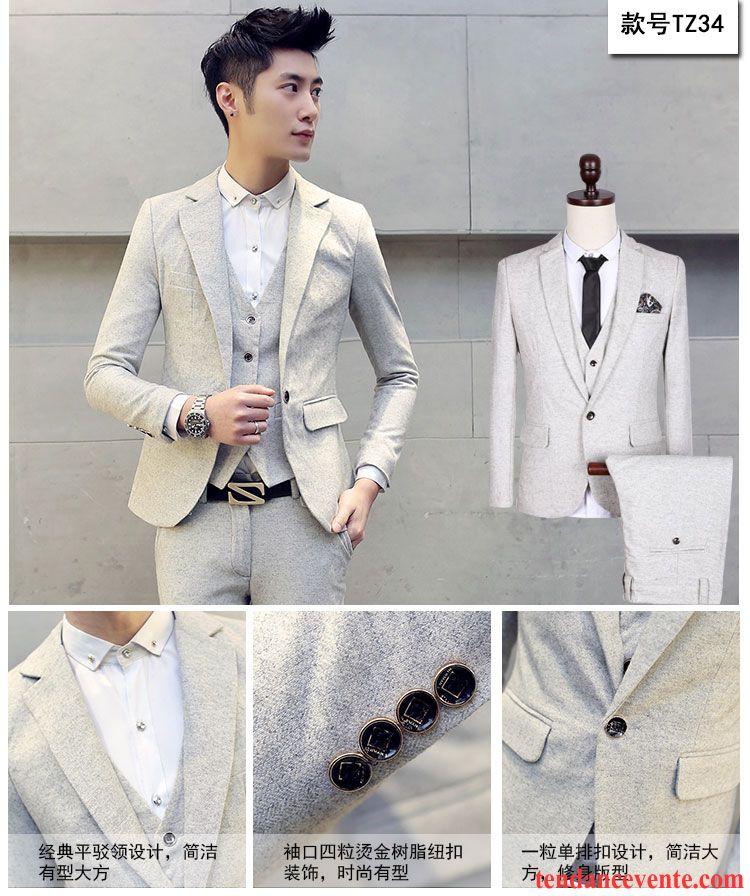veste costume blanche d contract e ensemble professionnel homme blazer mariage taillissime slim. Black Bedroom Furniture Sets. Home Design Ideas