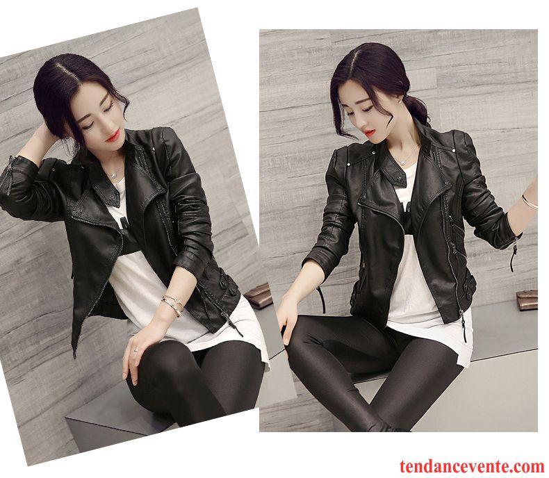 veste longue noir femme printemps tendance slim pardessus cuir court veste femme pu rouge pas cher. Black Bedroom Furniture Sets. Home Design Ideas