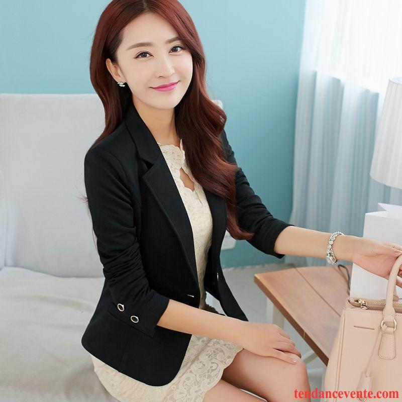blazer courte blanche court tendance longues slim femme blazer l 39 automne pardessus chameau. Black Bedroom Furniture Sets. Home Design Ideas