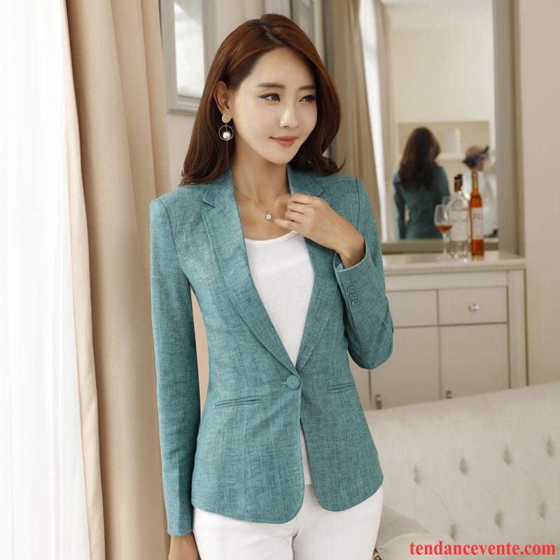 blazer et costume femme mode femme simple couleur l 39 automne court longues pardessus hiver pure. Black Bedroom Furniture Sets. Home Design Ideas
