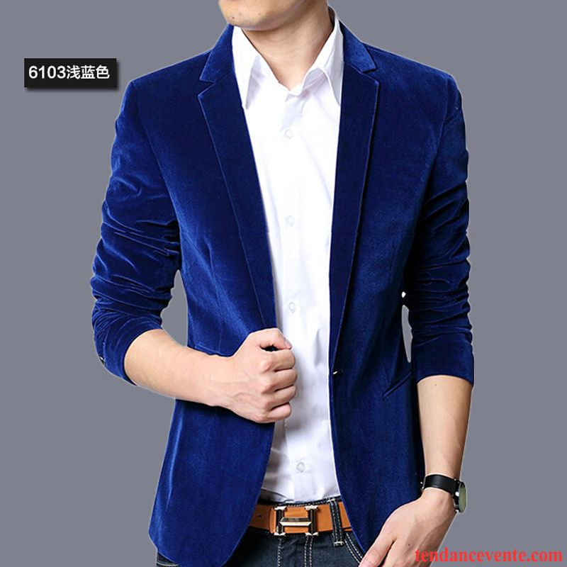 blazer homme slim,Blazer Homme Bleu Fonce Noir Bleu Clair a