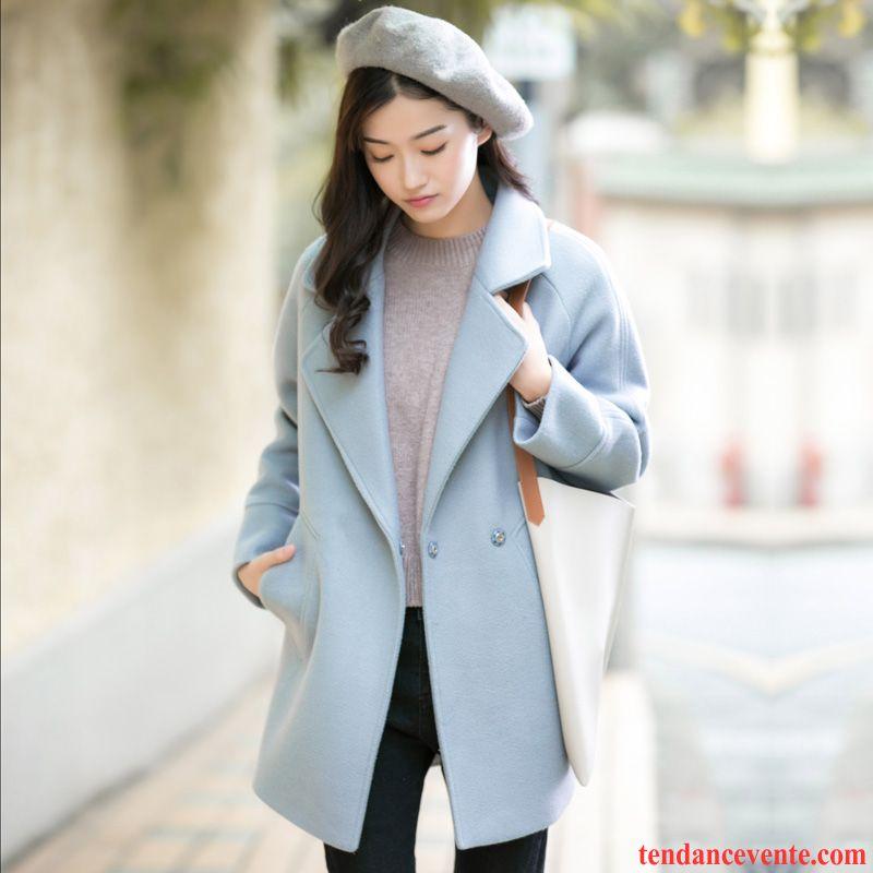 blouson femme avec capuche baggy renforc manteau hiver femme l 39 automne pardessus de laine. Black Bedroom Furniture Sets. Home Design Ideas