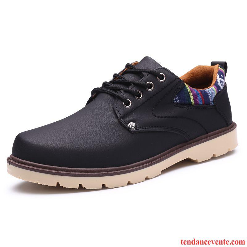 boots homme printemps boots cuir homme marron respirant bout rond entreprise decontractee homme. Black Bedroom Furniture Sets. Home Design Ideas