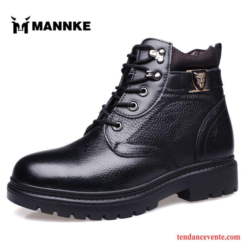 Homme Matelasse pas Marron Boots boots hiver homme cher Daim Homme nBzw87