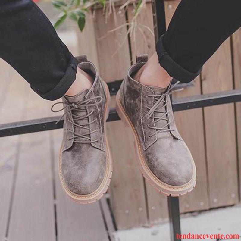 bottes marque homme hautes tendance en cuir hiver homme noir derbies l 39 automne angleterre marron. Black Bedroom Furniture Sets. Home Design Ideas