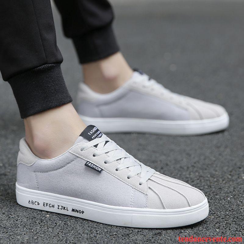 775bc37e738f Bottine Noir Homme Sport Printemps Chaussures En Tissu Décontractée  Tendance Hiver Homme Adolescent