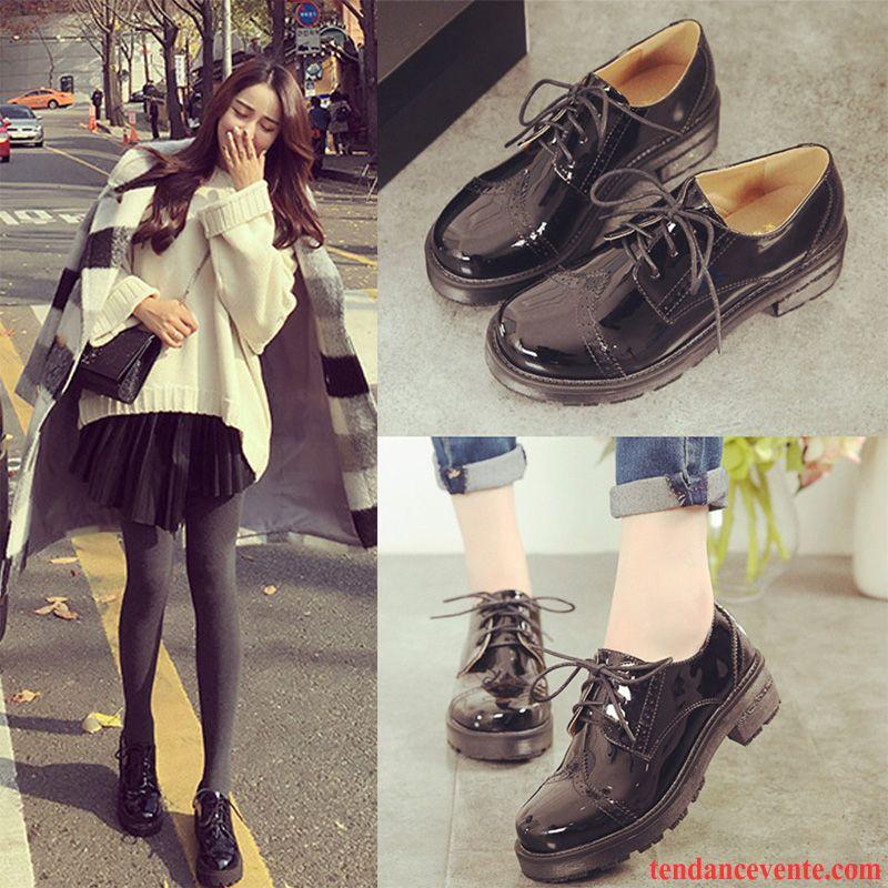 Plus Paris Velours Vent Chaussures D'université Femme De Xn0wP8Ok