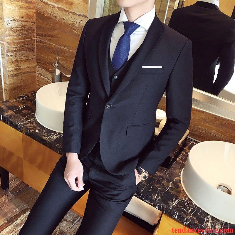Costard Solde Costume Homme Robe Costume Homme De Travail Blazer Slim Ensemble Professionnel Mariée