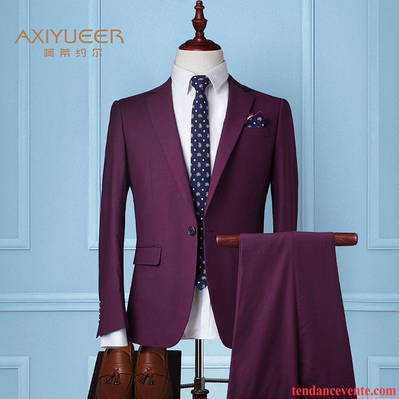 gilet de costume marron homme costume mari e slim mariage hiver ensemble britanique de travail. Black Bedroom Furniture Sets. Home Design Ideas