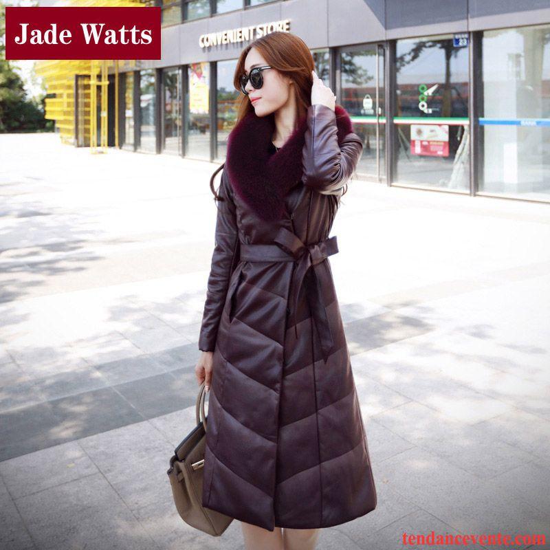 veste cuir marron femme solde manteaux populaires et branch s en france. Black Bedroom Furniture Sets. Home Design Ideas