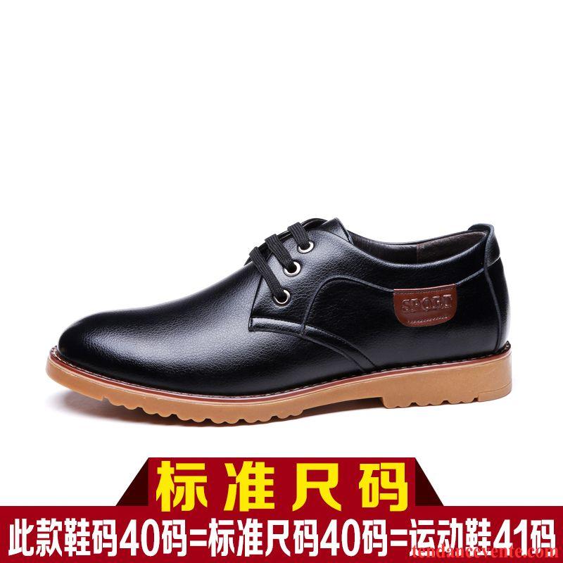 Derbies Fourrées Homme Entreprise Jeunesse Hiver Chaussures En Coton Tendance Homme Semelle Oxford Plus De Velours Décontractée