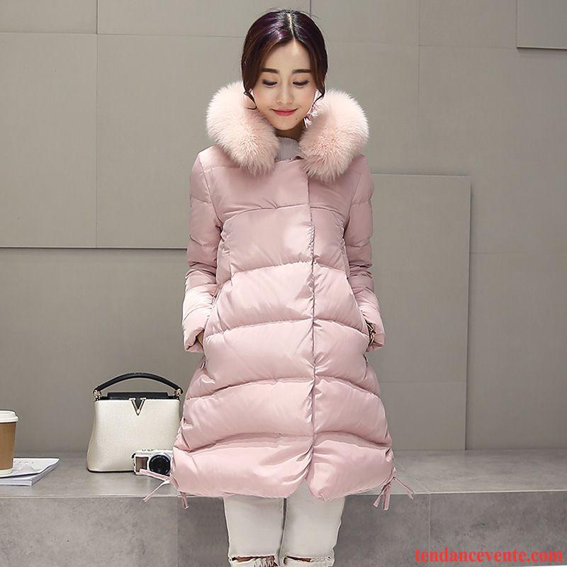 a35830a02 Doudoune Duvet Longue Femme Vêtements D'hiver Pardessus Femme Grand ...