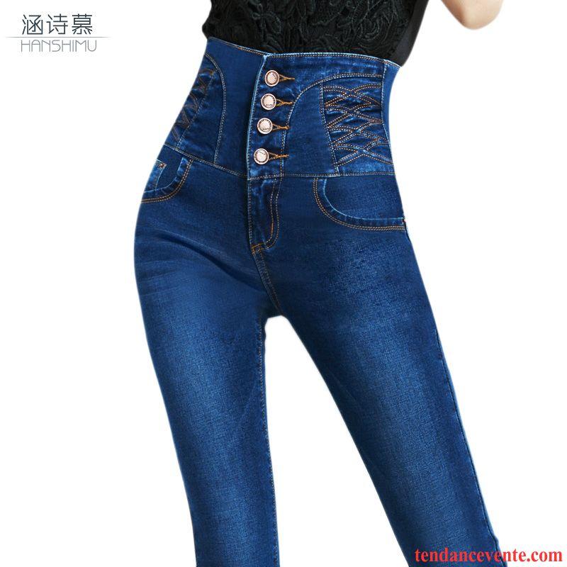 Jeans Moulant L Ensemble Extensible Crayon Pantalons Pour Femme 7PP8dqw4