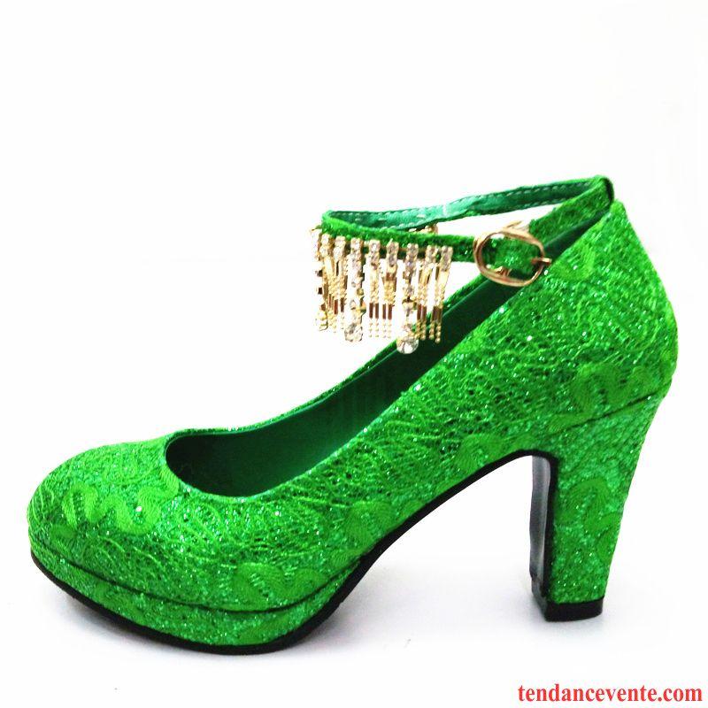 Chaussures de mariage vertes femme jGrqXLwW8e