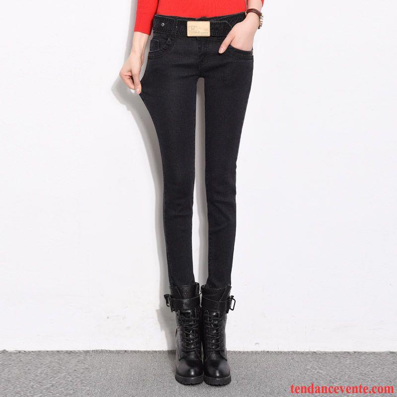 Noir Myeasycar Pantalon Femme Pantalon Femme Velours qXSxYFw