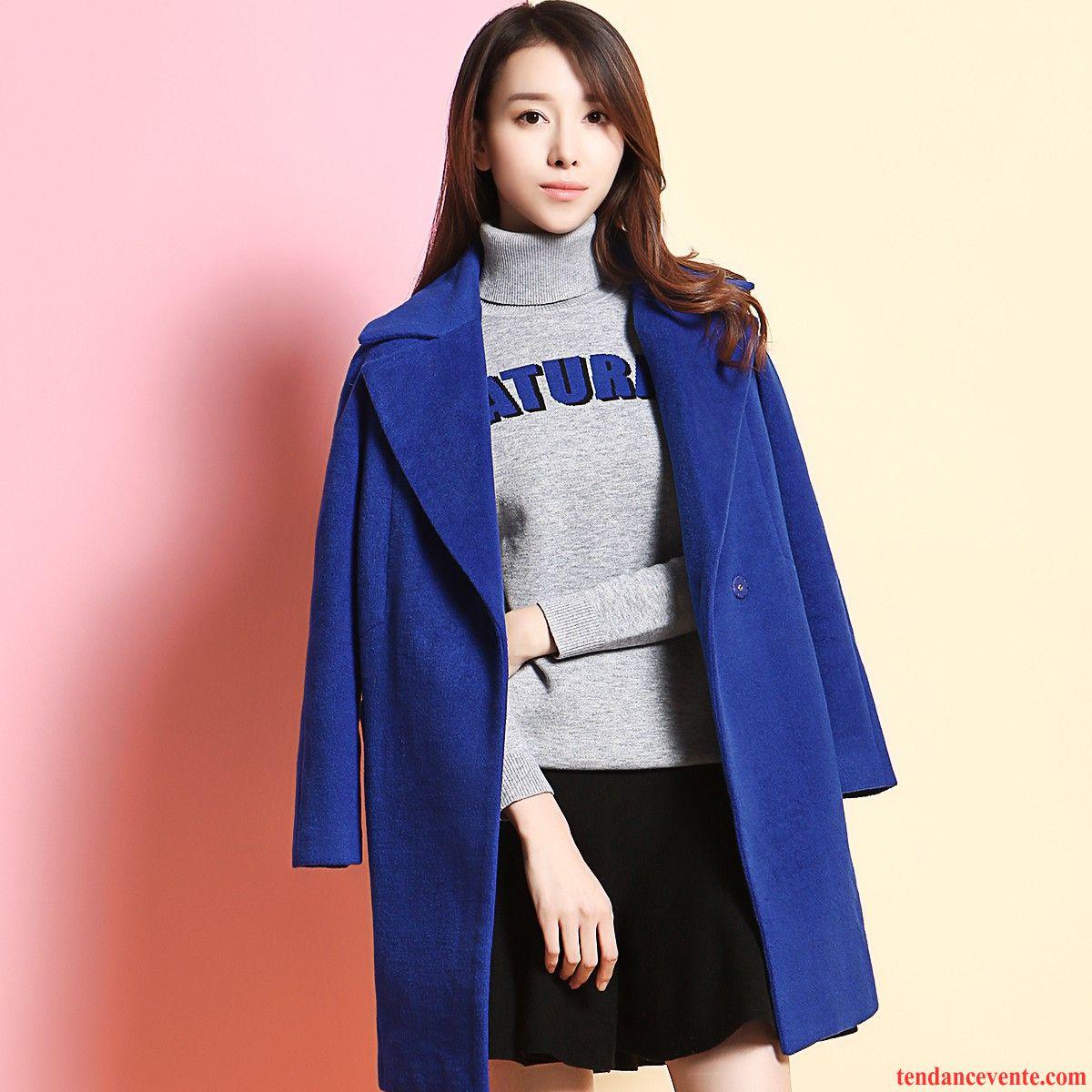 manteau de cuir pour femme veste l 39 automne pardessus hiver. Black Bedroom Furniture Sets. Home Design Ideas
