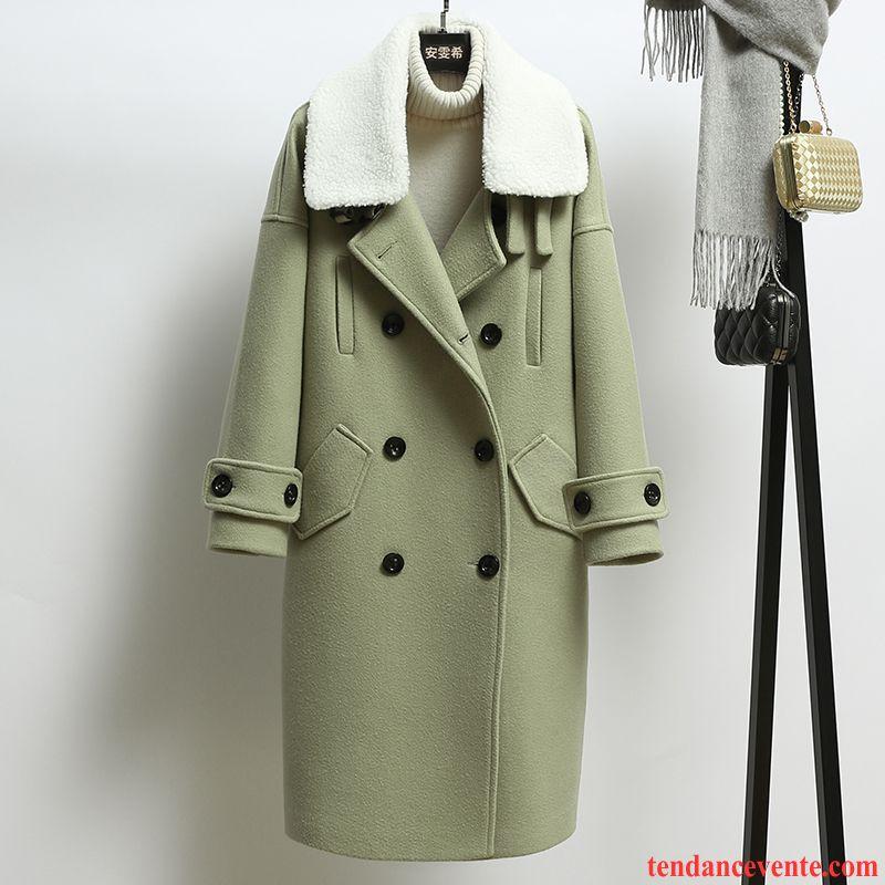 manteau long laine femme longue femme hiver manteau. Black Bedroom Furniture Sets. Home Design Ideas
