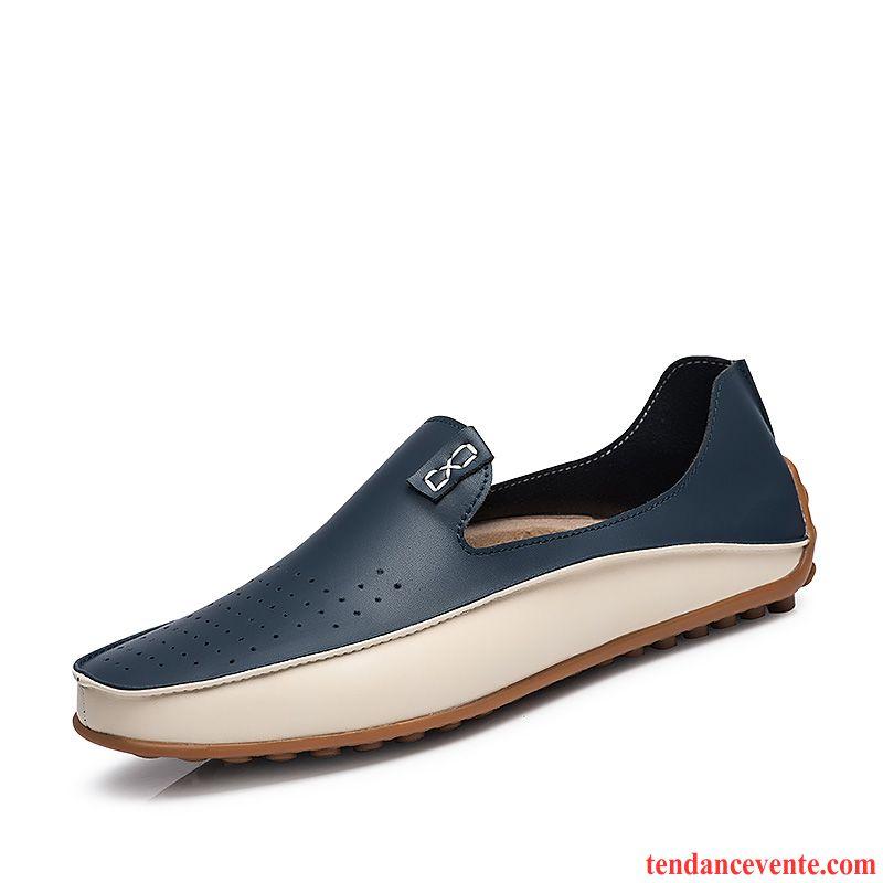 898784bdc0e585 Mocassin Homme Chic Décontractée Gros Printemps Taillissime Homme Chaussures  De Conduite Derbies Saumon Pas Cher