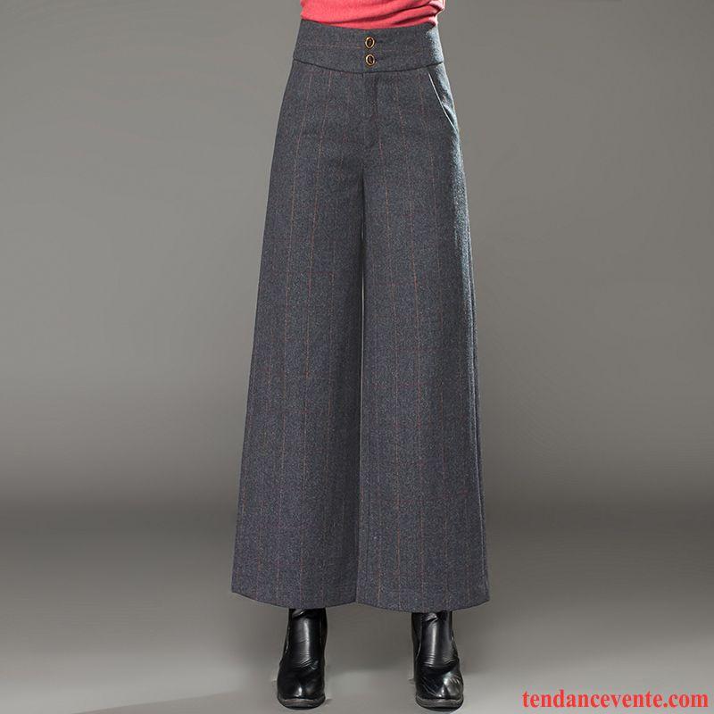 nouvelle collection beau tout à fait stylé Pantalon Avec Poche Sur Le Cote Femme Costume Décontractée ...