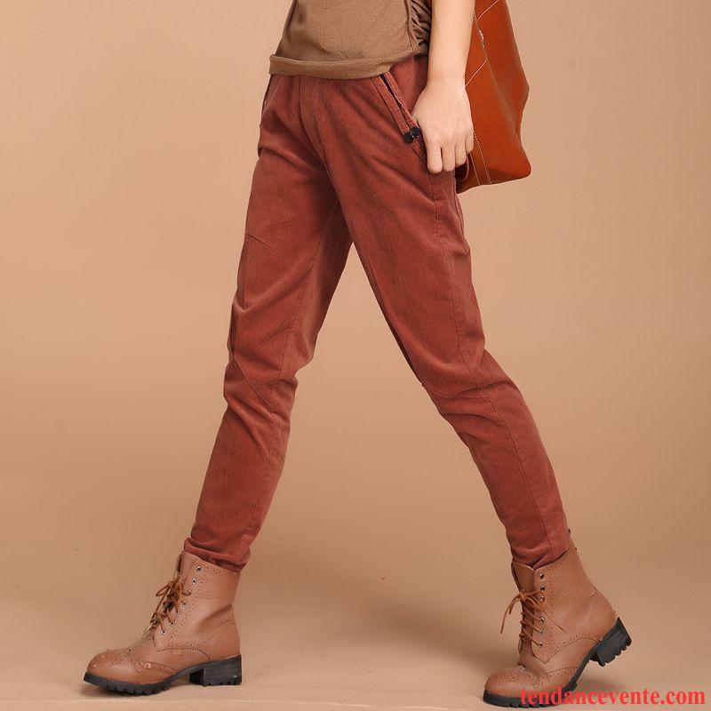 Pantalon Noir Taille Haute Baggy Femme L'automne Pantalon Tendance Middle Waisted Vêtements D'hiver Harlan Kaki Pas Cher