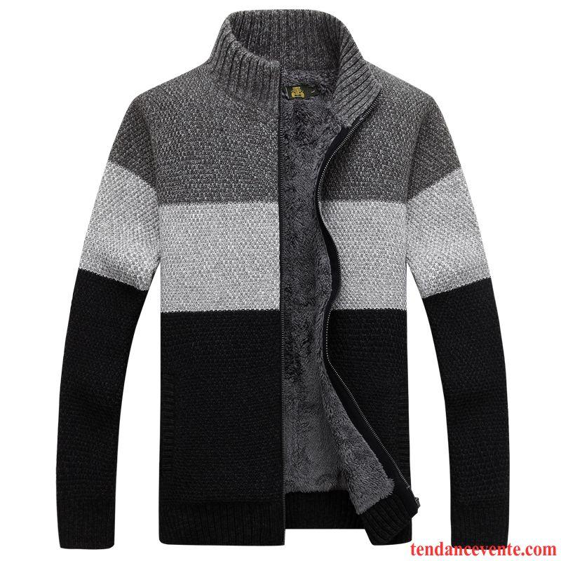 pull cardigan homme pull slim fantaisie l 39 automne tricots en maille hiver homme pure renforc. Black Bedroom Furniture Sets. Home Design Ideas