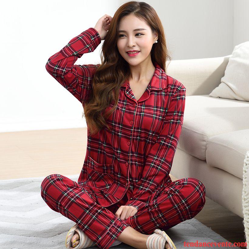 hot-vente plus récent 2019 meilleures ventes Nouvelle Pyjamas Velours Femme Taille Haute Dame Beauté Printemps ...