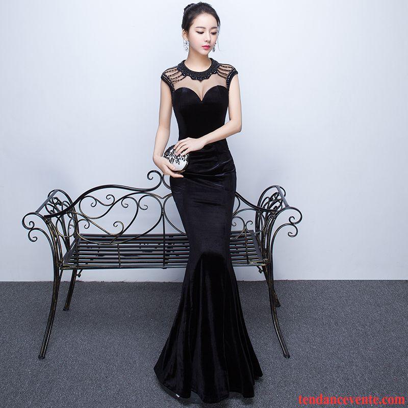 robe noire ete femme hiver mari e sexy slim robe mariage bordeaux. Black Bedroom Furniture Sets. Home Design Ideas