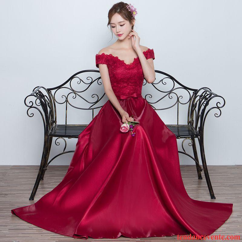 265fbf0aa0c Robe Noire Habillée L automne Robe Femme Rouge Mariée Longue Hiver Neige