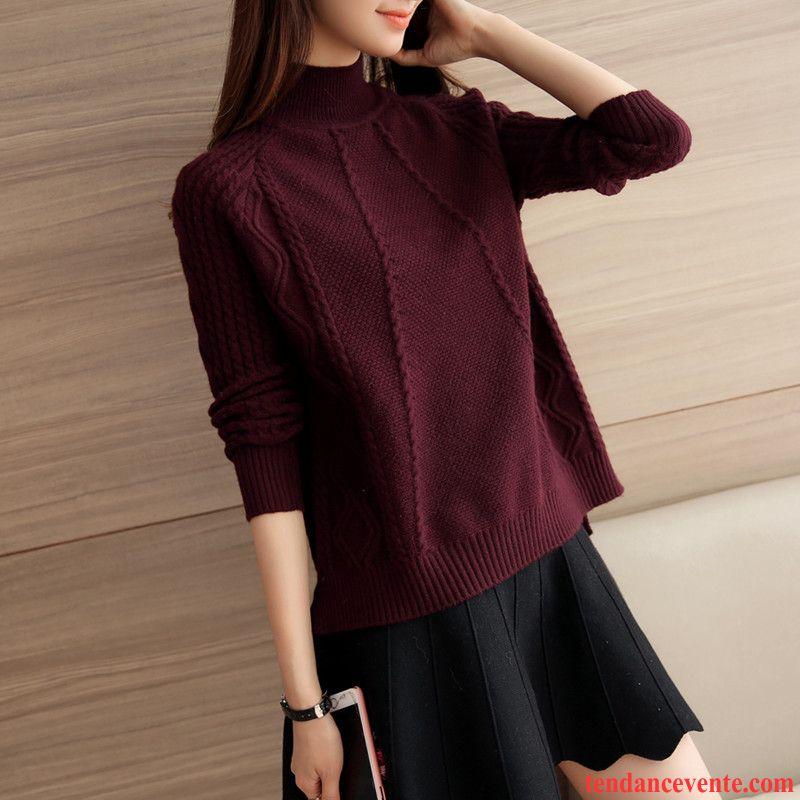 sous pull col roul femme pas cher tricots en maille mince. Black Bedroom Furniture Sets. Home Design Ideas