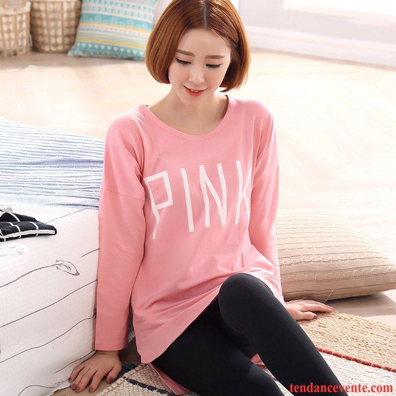 taille de pyjamas femme printemps femme ensemble hiver longues coton bio l 39 automne doux. Black Bedroom Furniture Sets. Home Design Ideas