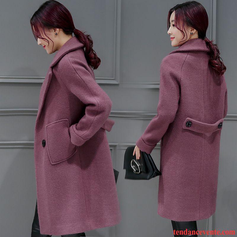 manteau femme hiver long femme v tements d 39 hiver la laine tendance broderie slim longue. Black Bedroom Furniture Sets. Home Design Ideas